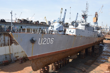 Корвет «Вінниця» буде кораблем-музеєм — Таран