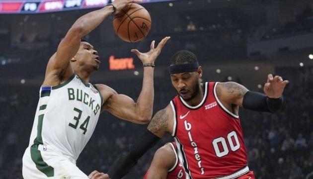 НБА: «Милуоки» разгромил «Портленд», «Майами» в овертайме уступил «Шарлотт»