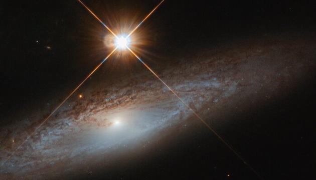 Hubble сделал снимок «скромной» галактики