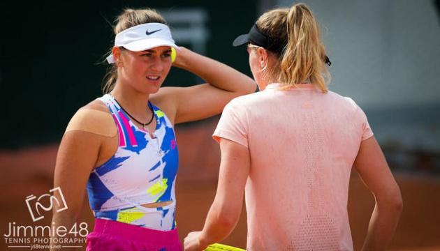 Костюк вийшла до другого кола парного розряду на турнірі WTA у Мельбурні