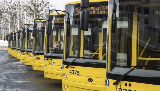 У Києві на маршрути виходять 15 нових тролейбусів
