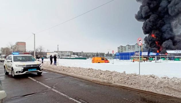 Полиция задержала поджигателя Эпицентра, ранившего топором охранника