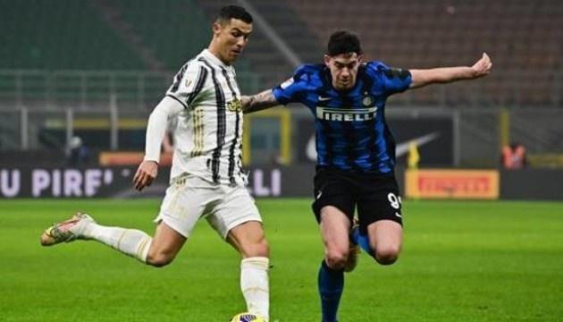 «Ювентус» победил «Интер» в первом матче полуфинала Кубка Италии