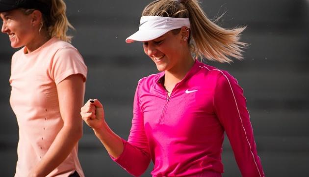 Костюк із Соснович пробилися до парного чвертьфіналу турніру WTA у Мельбурні