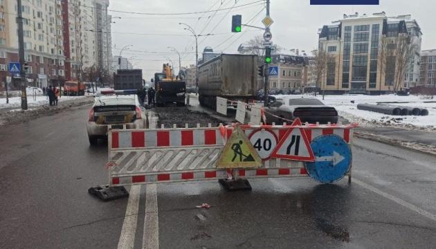 Движение транспорта по улице Грушевского возобновили