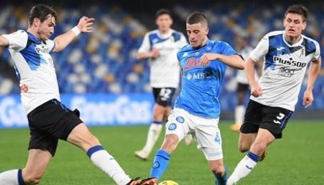 «Аталанта» зіграла внічию з «Наполі» у першому матчі 1/2 Кубка Італії