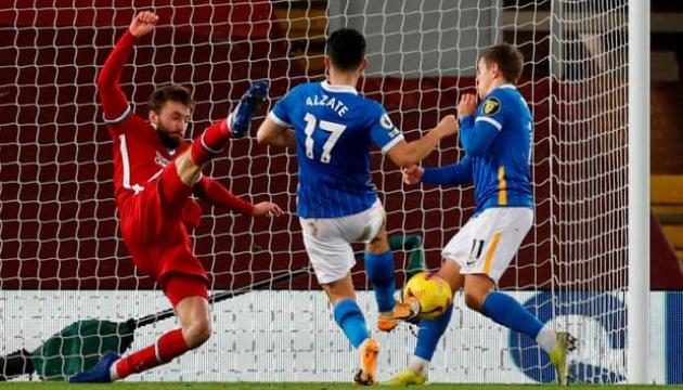 АПЛ: «Ливерпуль» сенсационно проиграл «Брайтону»