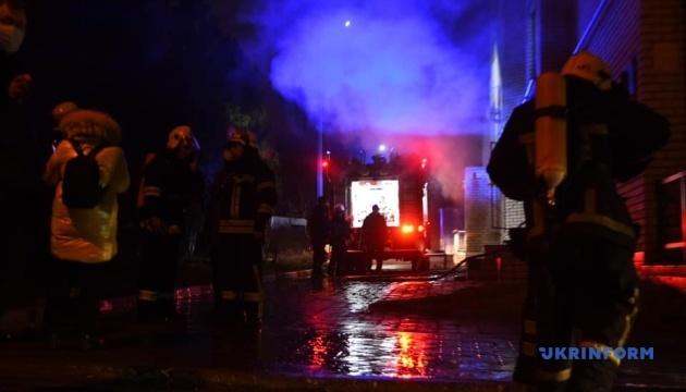 Пожар в Запорожье: директор больницы назвал возможную причину