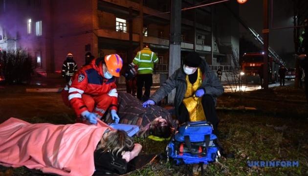 Пожар в запорожской больнице: трагедия произошла в реанимации COVID-отделения
