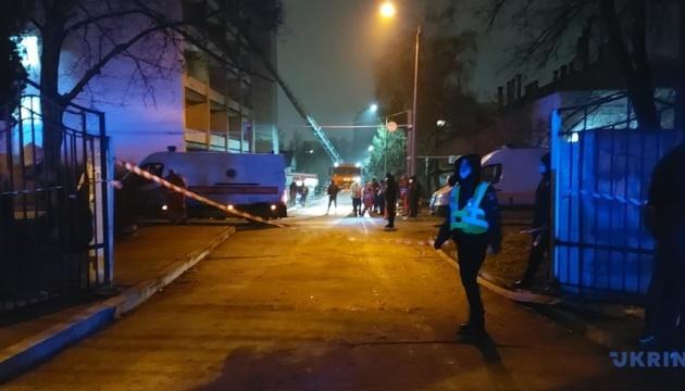 Пожежа в Запоріжжі: у лікарні досі не знають, скільки згоріло обладнання