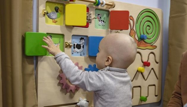 За підтримки абонентів Київстар в Інституті раку відкрили сенсорну кімнату для дітей
