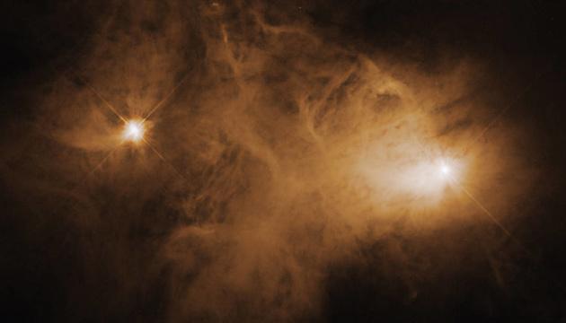 Hubble зробив знімок незвичайної галактичної туманності