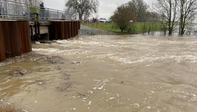 Рейн вышел из берегов - вода поднялась на 8,5 метра