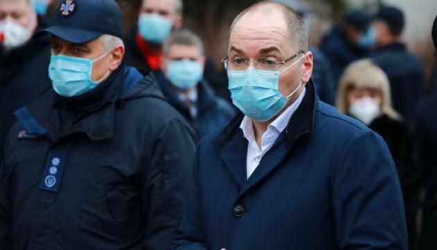 Пожежа у запорізькій лікарні: Степанов відвідав постраждалих медиків