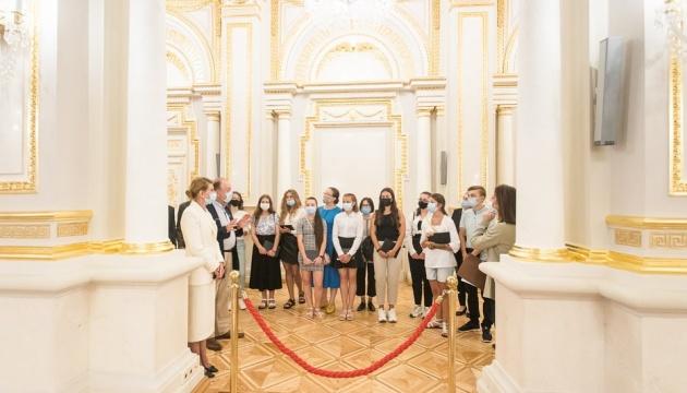У Маріїнському палаці вже провели 70 екскурсій для дітей – перша леді
