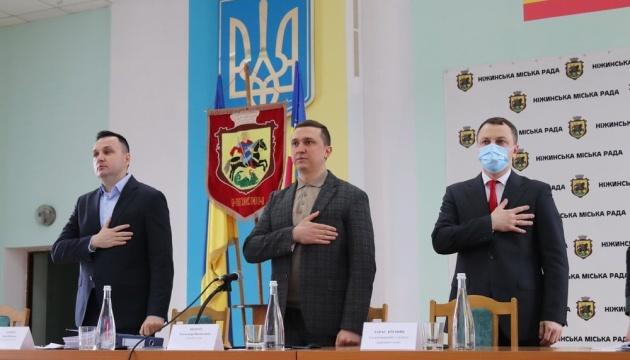 Нежинский горсовет первым в Украине принял Программу развития украинского языка