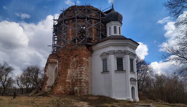 ПЦУ восстановит на Черниговщине храм, построенный Мазепой
