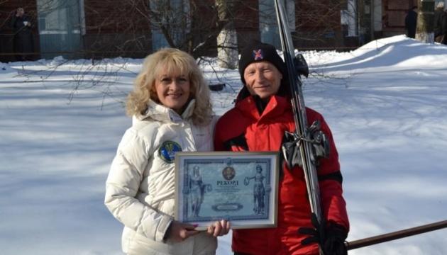 У Буковелі 87-річний лижник із Черкас встановив рекорд