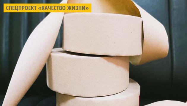 Бумажная фабрика на Харьковщине изготовила первую в Украине партию экоскотча