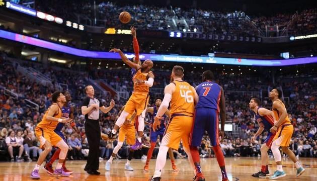 НБА: «Детройт» Михайлюка проиграл «Финиксу», «Вашингтон» Леня уступил «Майами»