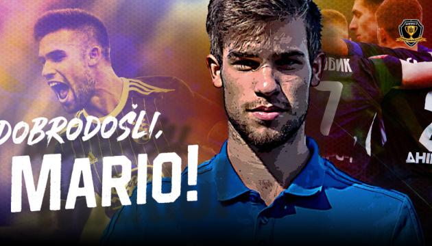 Хорватський футбольний форвард Маріо Чуже гратиме в «Дніпрі-1»