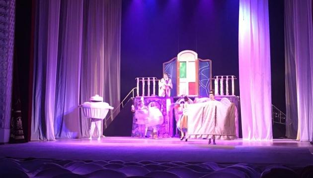 Винницкий театр показал премьеру мюзикла «Красавица и чудовище»