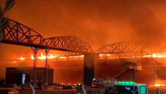 В Аргентине сгорел автодром «Термас де Рио Ондо»