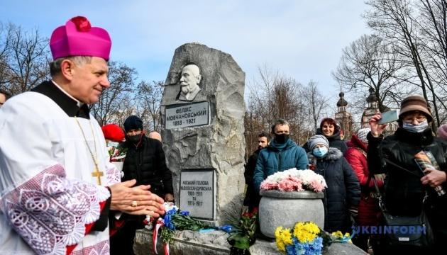 Іоанн Павло II та мер минулого сторіччя: у Запоріжжі відкрили два пам'ятники