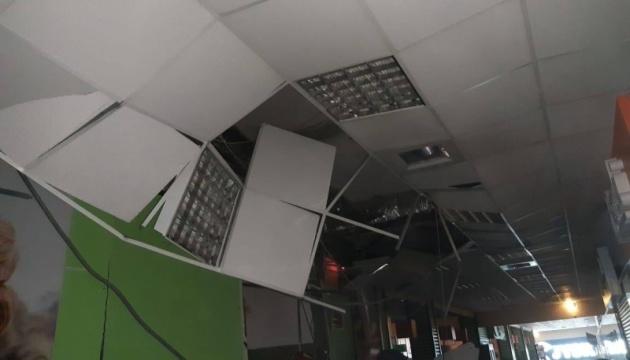 В Черновцах произошел взрыв в торговом центре