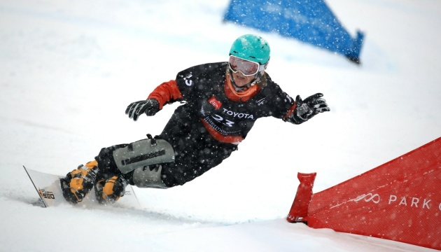 Українська сноубордистка Данча виграла золото на етапі Кубка Європи