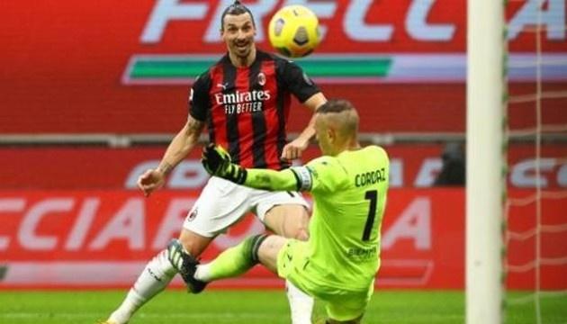 «Милан» победил «Кротоне» и вновь возглавил Серию А