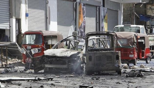 У Сомалі на міні підірвався військовий автомобіль - десять загиблих