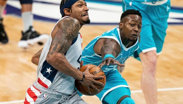 НБА: «Вашингтон» Леня програв «Шарлотт»