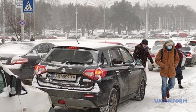 【ウクライナ大雪】9日は吹雪の予報