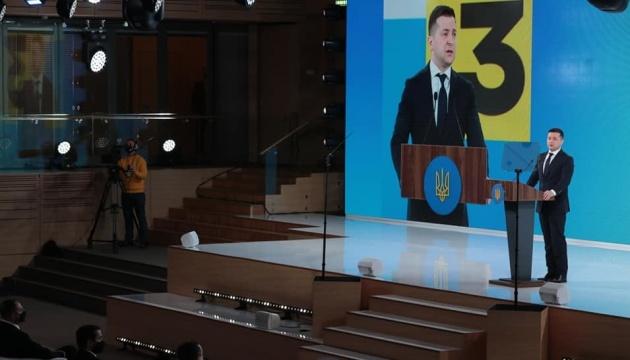 """Selenskyj im Forum """"Ukraine 30. Coronavirus: Herausforderungen und Antworten"""