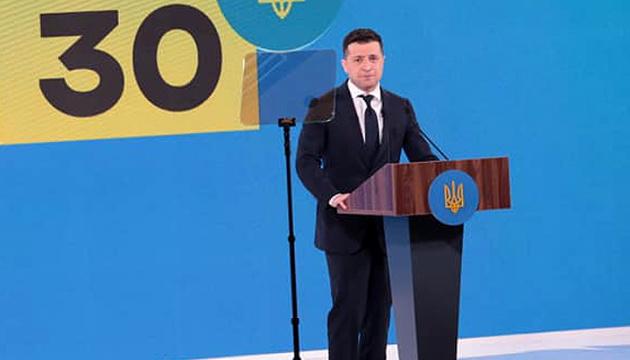 Bürgerdialog zum 30.Unabhängigkeitstag: Präsident Selenskyj kündigt 30 Foren ein