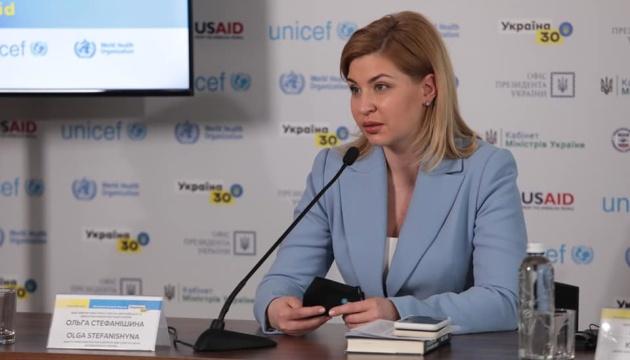 Stefanyschyna: Corona-Krise hat gezeigt, wie wichtig Partnerschaft der Ukraine mit EU und NATO ist