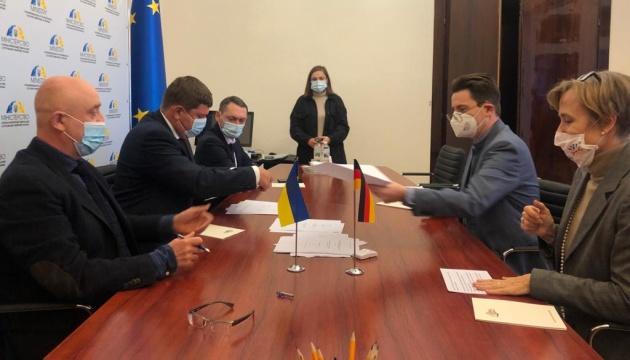 Німеччина дає Україні €13 мільйонів на боротьбу з COVID-19