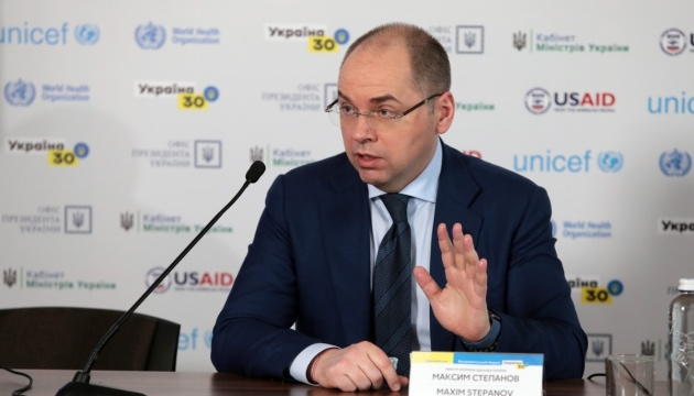 Stepanov: Number of confirmed COVID-19 cases growing in Ukraine