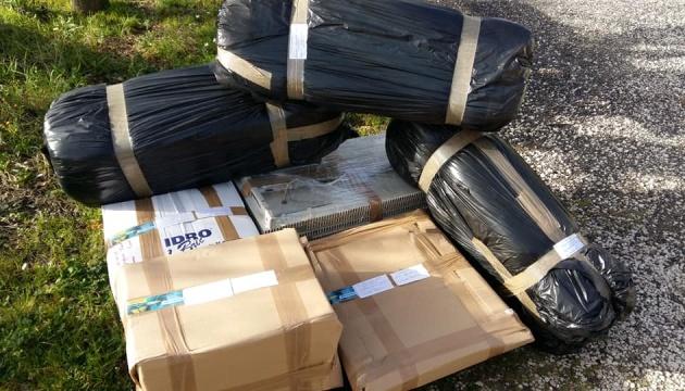 Українці Італії надіслали черговий вантаж гумдопомоги в Україну