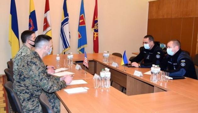 Командувач ВМС Неїжпапа обговорив із делегацією посольства США подальшу співпрацю