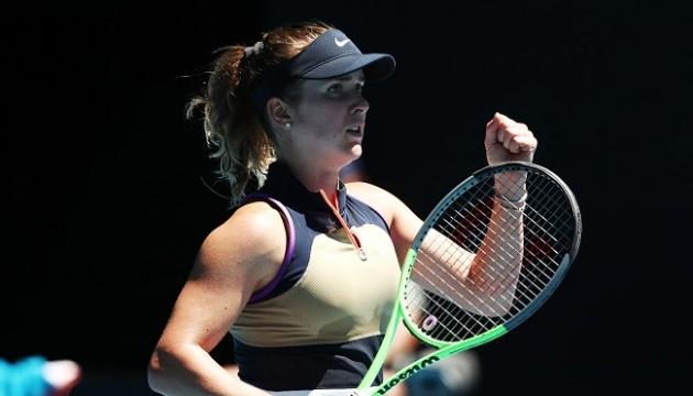 Світоліна обіграла Боузкову і вийшла до другого кола Australian Open