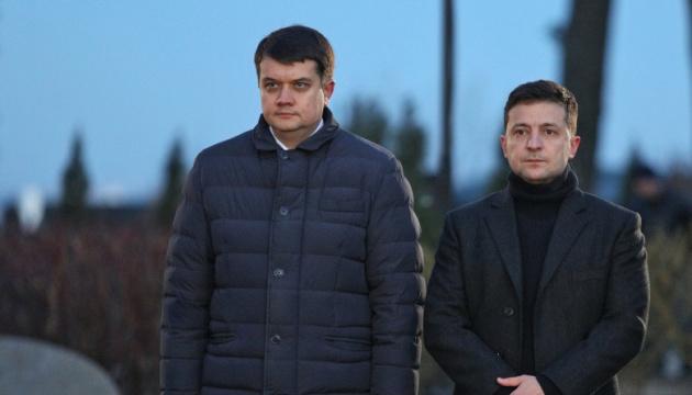 Ukraińcy najbardziej ufają Razumkowowi i Zełenskiemu