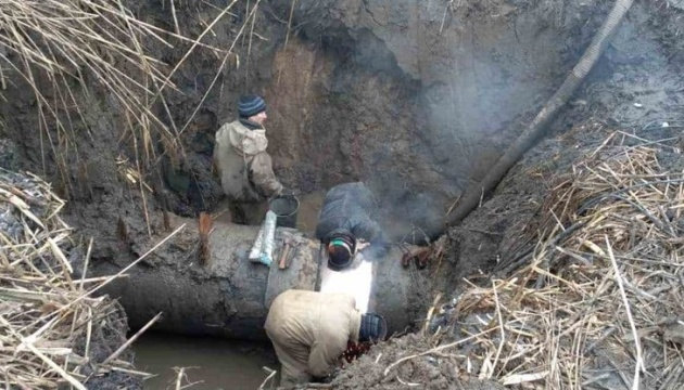 Через окупантів низка населених пунктів Донбасу – без електрики, опалення і води