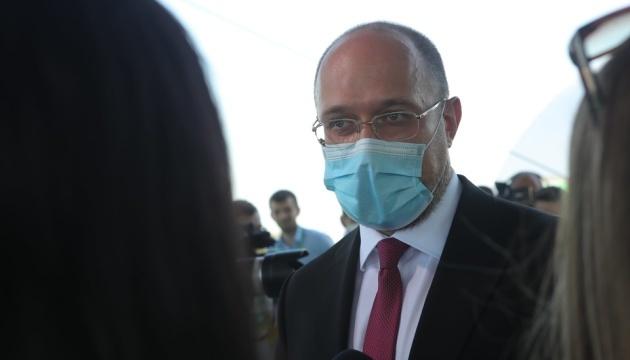 Premierminister Schmyhal mit Delegation in Brüssel angekommen