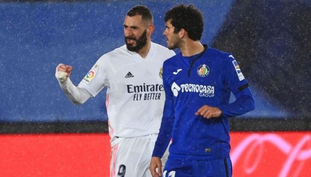 Ла Ліга: «Реал» обіграв «Гетафе» і повернувся на друге місце