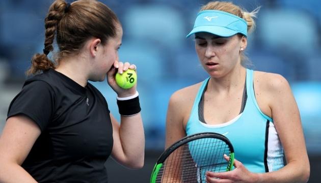 Кіченок останньою з українських тенісисток завершила виступ на Australian Open