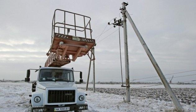 Unwetter in der Ukraine: 62 Ortschaften bleiben immer noch ohne Strom
