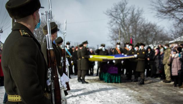 На Черкащині попрощалися з бійцем, який загинув у зоні ООС