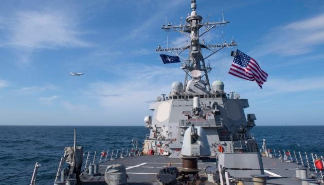 Американські есмінці Porter і Donald Cook вийшли з Чорного моря